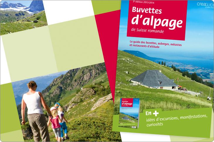 Guide des buvettes d'alpage, carte postal