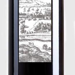 Création étiquettes pour bouteilles de vin