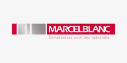 Création du logo Marcel Blanc