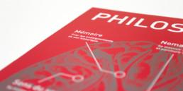 Flyer Philosophie création et réalisation