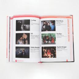 Guide, actualité musicale en Suisse, book, mise en page, concours
