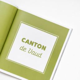 design atelier Zaniah, page titre, choix couleur et typographie