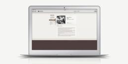 Réalisation du design du site vitrine Fondation Sandoz