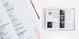 Page titre, typographie, couleur