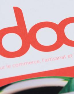 Magazine mise en page typographie graphisme