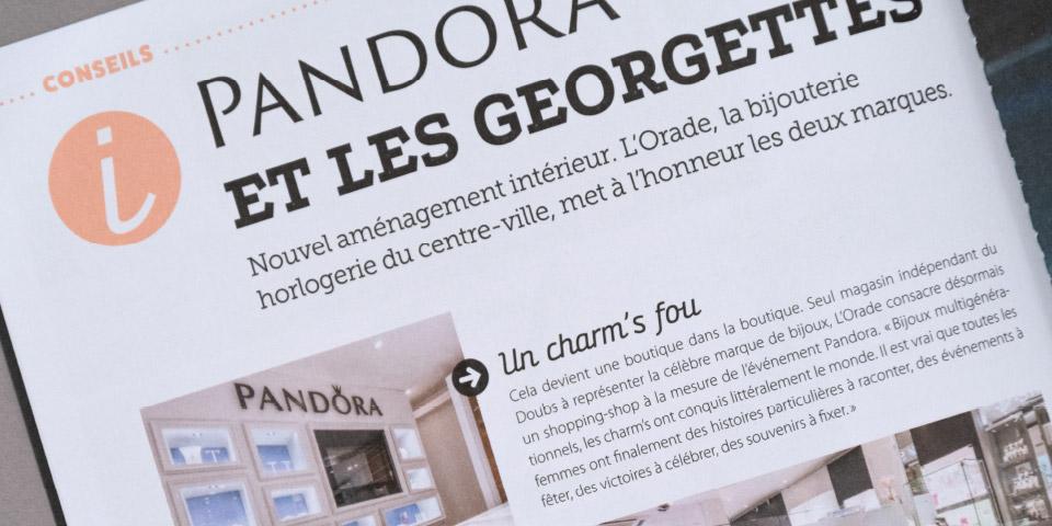 Magazine typographie font