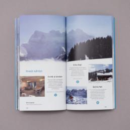 Livre, mise en page, pictogramme, typographie
