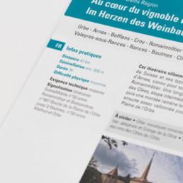 Brochure, typographie