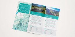 Brochure, pictogramme, mise en page