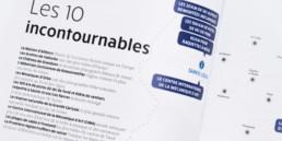 Dossier presse, typographie, titre