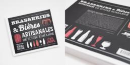 Guide Creaguide, graphisme Zaniah, Brasserie artisanales