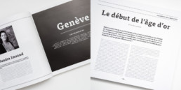 Creaguide, design atelier Zaniah, page titre, typographie