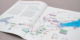 Plan carte. Conception et réalisation par graphistes à orbe.