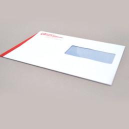 Conception graphique, enveloppe, logo, Pictogramme coeur et typographie
