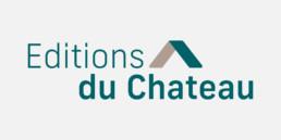 Logo éditions du Château, création graphique