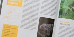 guide graphisme, mise en page, infographie carte, situation des zoo