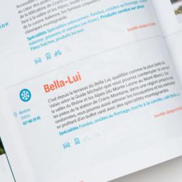 livre, édition creaguide, graphisme, mise en page, pictogramme. Création par atelier Zaniah à Orbe