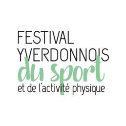 Logo, festival yverdonnois du sport et de l'activité physique typographie