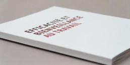 Cahier exercice, sur le thème du burn out, mise en page