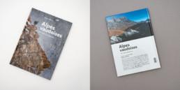 Edition Attinger, Orbe, graphisme, couverture, livre photographie, Alpes vaudoises