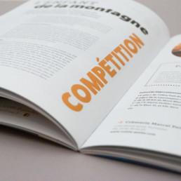 Magazine gratuit imprimé, graphisme atelier zaniah à Orbe