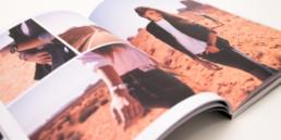 Open magazine, mise en page, grille photographie
