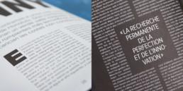 Mise en page, langue, espagnole et français