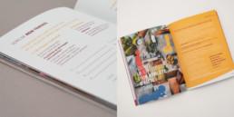 Jeu de carte pour client No-Burn Out, page titre, illustration, typographie, couleur
