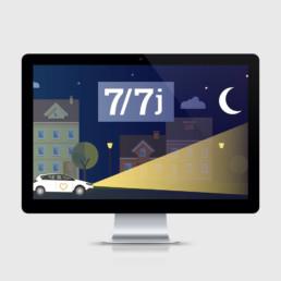 Animation, site internet, service