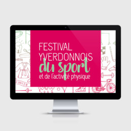 Animation, site web, sport