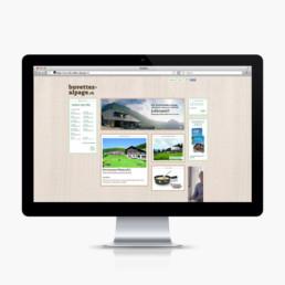 Buvette d'alpage, site web, bureau