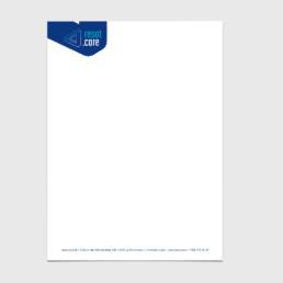 Graphiste, papier à lettre, logo