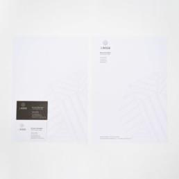 Identité visuelle, carte de visite, papier à lettre