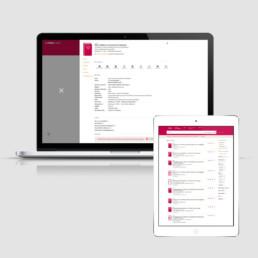 Identité visuelle, site web responsive