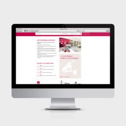 Identité visuelle, site web