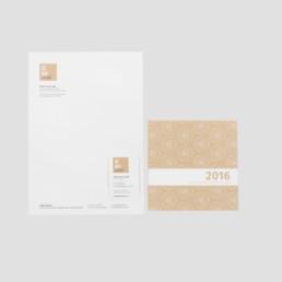 Identité visuelle, logo, papier à lettre, plaquette
